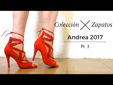 5d895e28ed0eb Colección de Zapatos Andrea 2017 Pt3 Modelos nuevos - YouTube