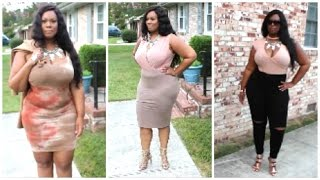 BACK TO SCHOOL LOOKBOOK | PLUS SIZE | FASHION NOVA & BOOHOO + Giveaway