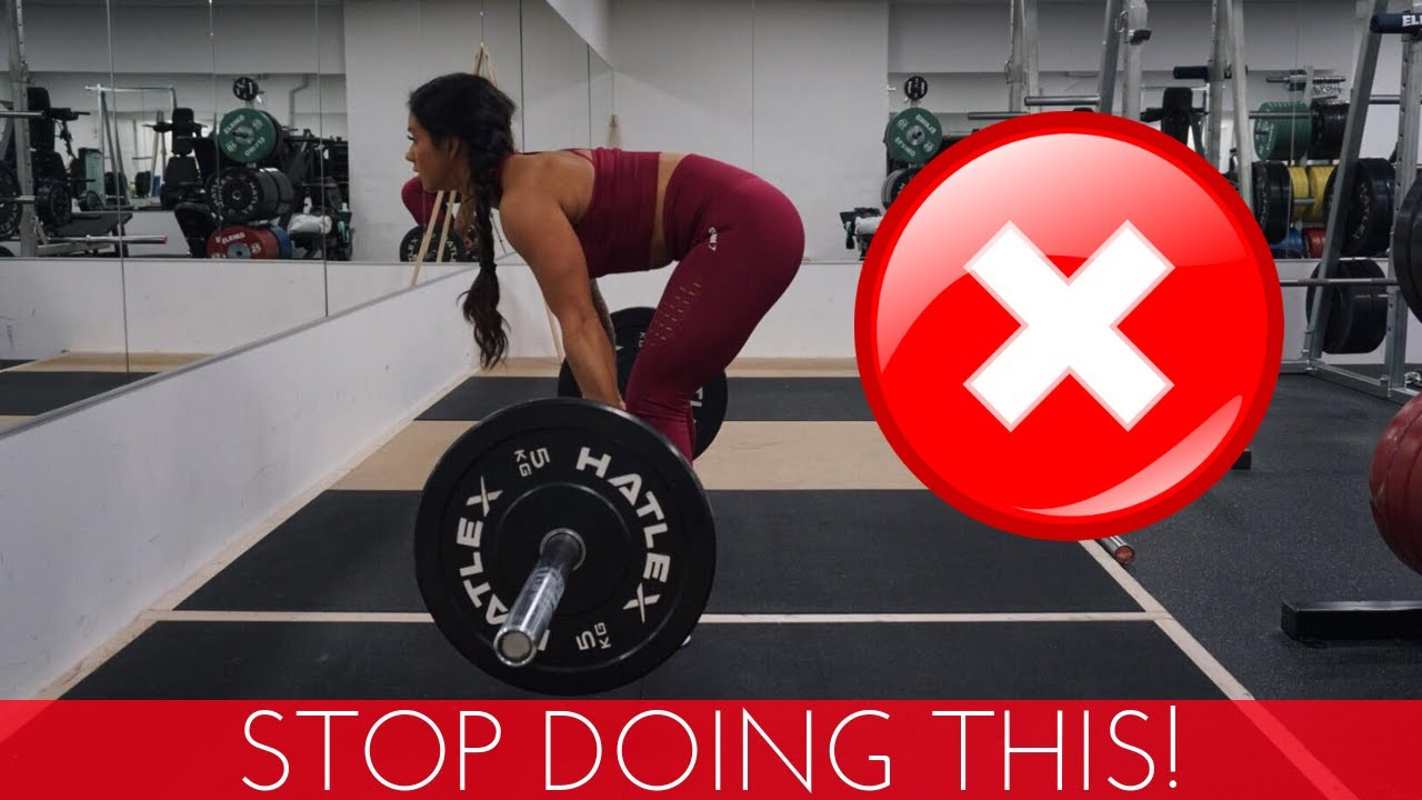6 COMMON GYM MISTAKES FOR BACK TRAINING