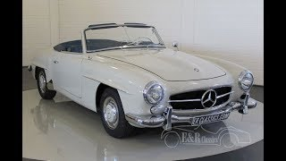 Mercedes-Benz 190SL Cabriolet 1960 -VIDEO- www.ERclassics.com