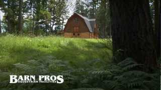 Barn Pros - Ayrshire Gambrel Barn
