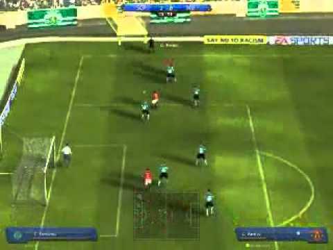 Phong ngu phan cong Catenacio trong Fifa Online 2