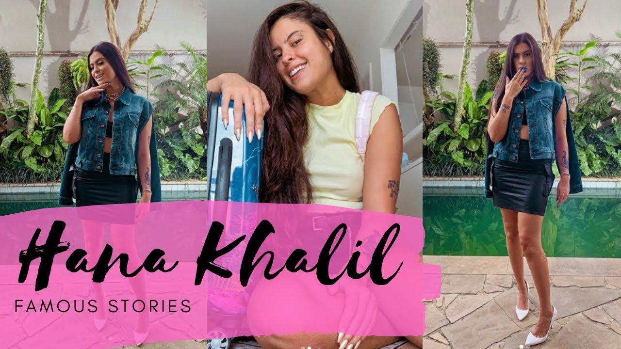 Hana Khalil sai para beber com Any Borges e Stéfani Bays