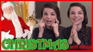 English CHRISTMAS Words with Alisha!
