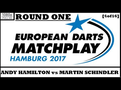 Round 1 [4of16]: Andy Hamilton v Martin Schindler & Interview - European Darts Matchplay 2017 HD