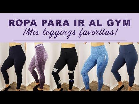 ROPA PARA GYM | Leggings de GYMSHARK, LULULEMON, 90 DEGREE, FABLETICS y más...