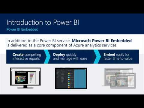 Developing Intelligent Apps with Power BI Embedded | Peter Myers