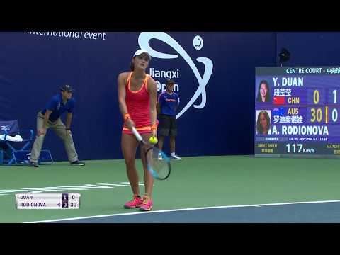 Duan Ying-Ying vs Arina Rodionova R1 Nanchang 2017
