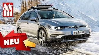 VW Golf 8 (2020): GTI - Variant - Alltrack - Skizze - Modelle - Infos