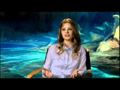 Anita Briem talks Journey to the Center of the Earth ...