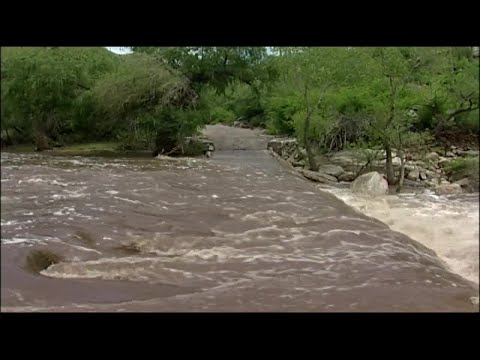 Monsoon affects Sabino Canyon over the years