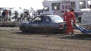 Carpulling Oosterland 2008 bmw Trouble Maker 2de manche autotrek