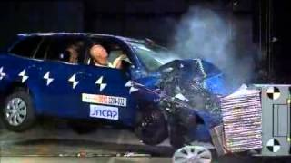 Crash Test 2012- Toyota Corolla Axio / Fielder (Frontal Offset) JNCAP