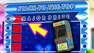 I Won an Arcade Machine from the Stacker Major Prize!