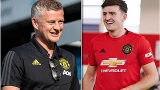 Harry Maguire reveals what Ole Gunnar Solskjaer said to convince him to join Man Utd- transfer ne...