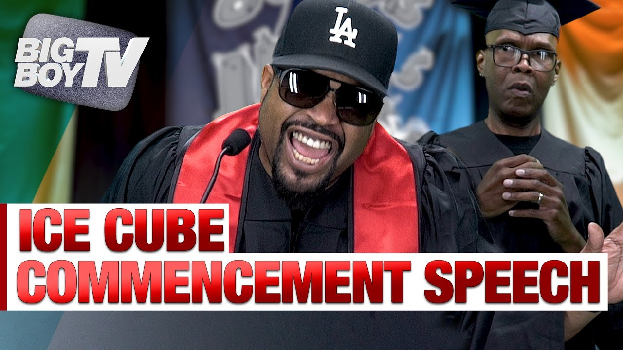 Download Ice Cube Delivers Commencement Speech to Graduating Class!