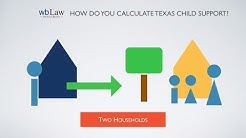 How Do You Calculate Texas Child Support?