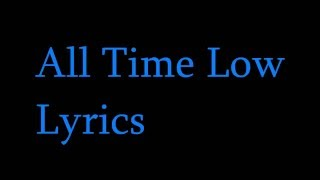 Jon Bellion All Time Low Lyrics