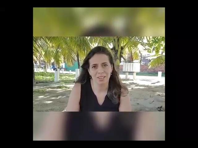 A bióloga Roberta Carvalho fala sobre o Dia Mundial do Meio Ambiente