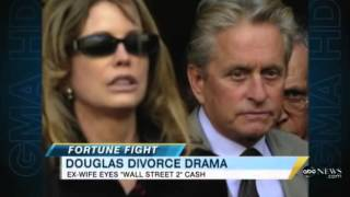 Michael Douglas' Ex-Wife Diandra Sues Over 'Wall Street 2' Earnings: Jimmy Nguyen Discusses on GMA