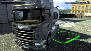 Let's Play Euro Truck Spezial LKW Rangier Simulator Part#004