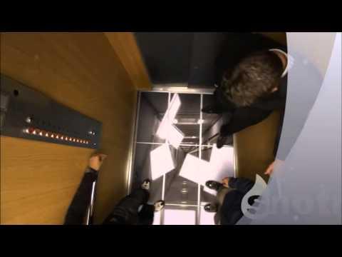 LG Asansör Kamera Şakası
