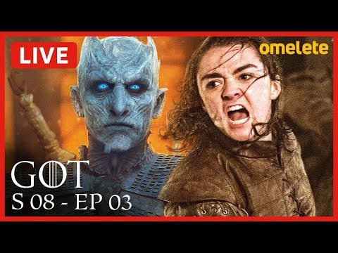 GAME OF THRONES S08E03 COMENTADO
