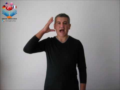 Anlamak   işaret dili