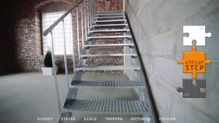 Montáž venkovního schodiště ATRIUM STEP