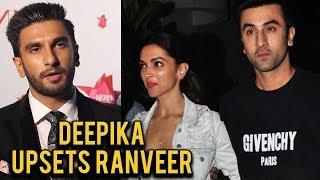 EX-LOVERS Deepika Padukone and Ranbir Kapoor REUNITE, Ranveer Singh ANGRY
