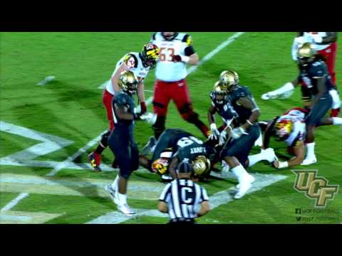 HIGHLIGHTS: UCF Football vs. Maryland (9-17-16)
