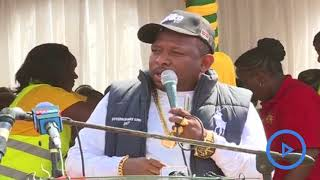 Governor Mike Sonko warns his chief of staff against corruption