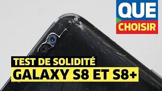 Samsung Galaxy S8 et S8+ : des écrans très fragiles