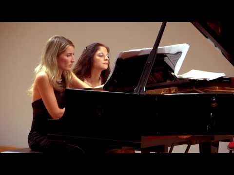 Maurice Ravel-- Ma mère l'Oye, cinque pezzi infantili  [Eliana Grasso - Irene Veneziano ]
