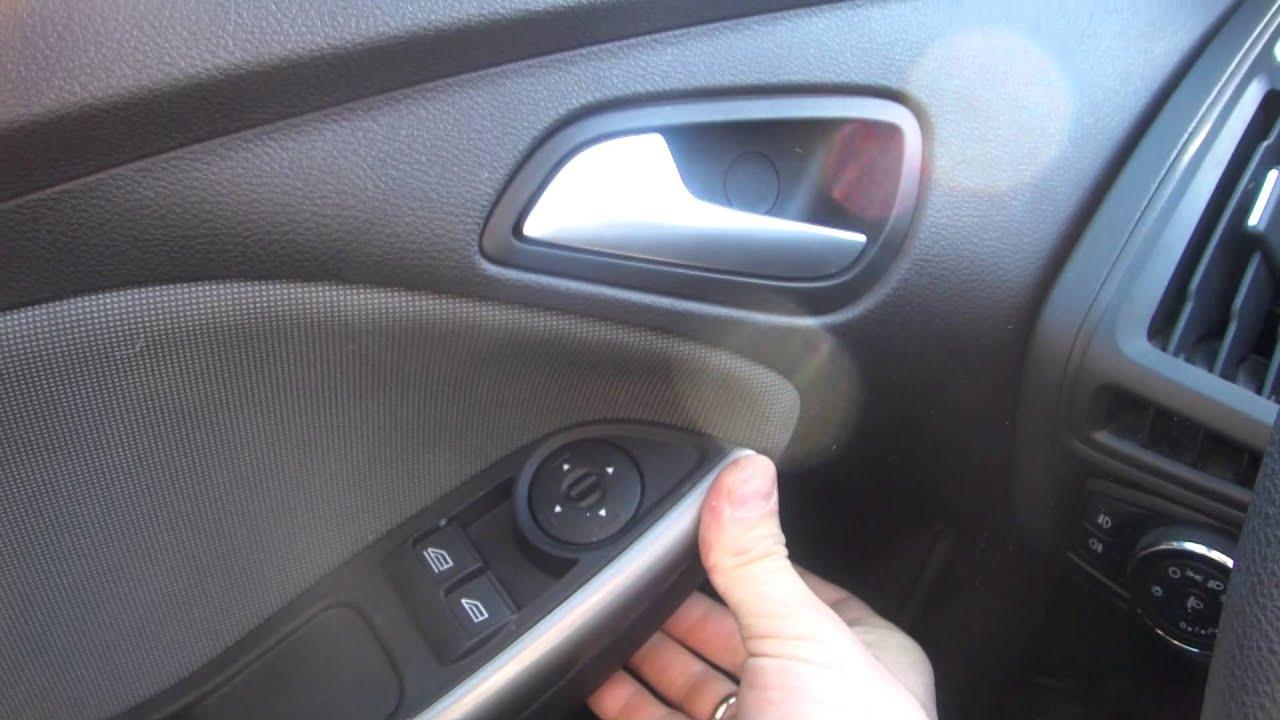 Форд Фокус 3 Как снять плафон от dooom