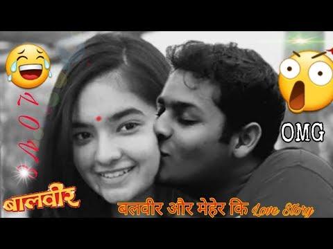 Baal Veer Aur Mehar Ki Love Story||Dev Joshi And Anushka Sen Love Story, Rahim Tech