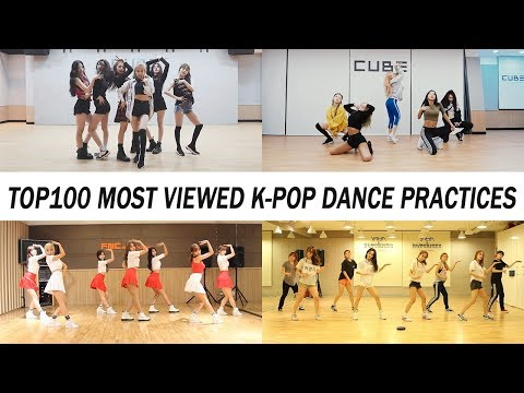 [TOP 100] MOST VIEWED K-POP DANCE PRACTICES • November 2018