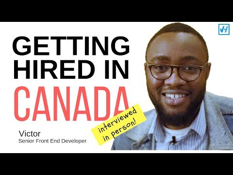 Life After Moving To Canada: How Victor Got Hired As A Front End Developer In Winnipeg