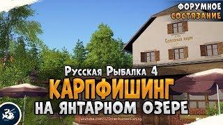 Фарм серебра на Янтарном озере Русская Рыбалка 4