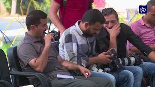 """معلمو """"الأونروا"""" يستعدون للإضراب الثالث والوكالة تعد بدراسة المطالب - (13-11-2017)"""