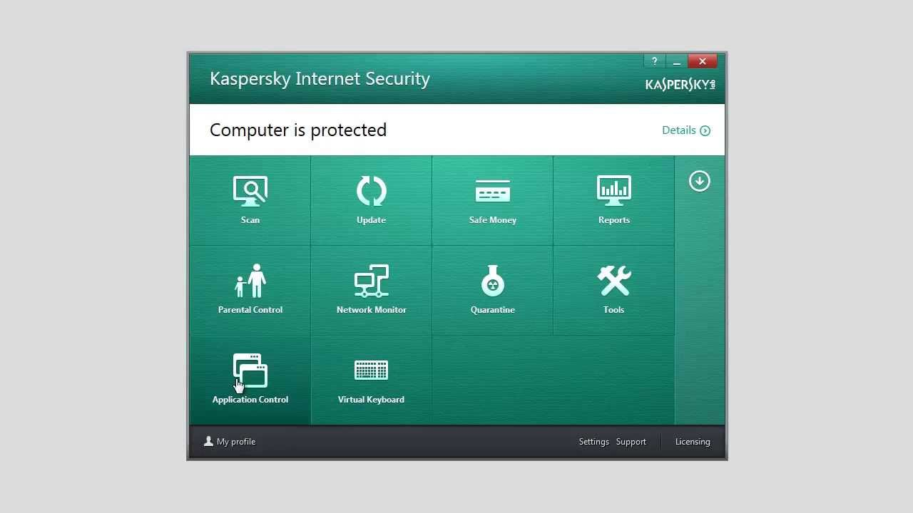How To Set Trusted Applications in Kaspersky Internet Security 2014