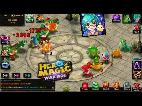 Hero of Magic - War Age Gameplay [Lvl 132 Grade 3]
