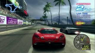 Ridge Racer 6 on the Xbox360 Vid
