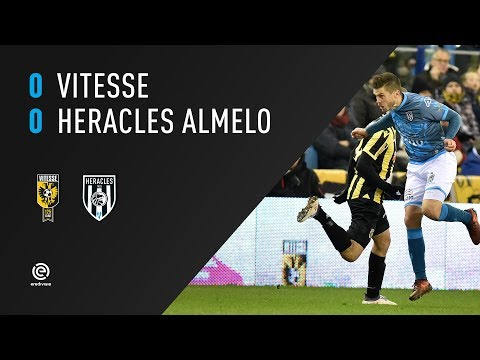 Vitesse  - Heracles Almelo 0-0 | 17-03-2018 | Samenvatting
