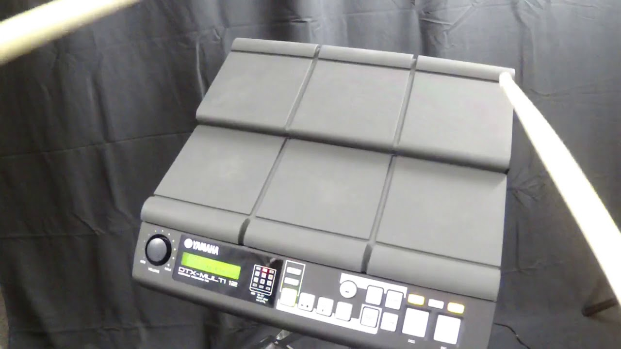 Yamaha DTX Multi 12 Pad w/SKB Travel Case & Owner's Manual - Value: $800