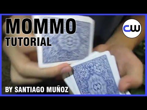 CARDISTRY TUTORIAL / CARD FLOURISH - Mommo by Santiago Muñoz