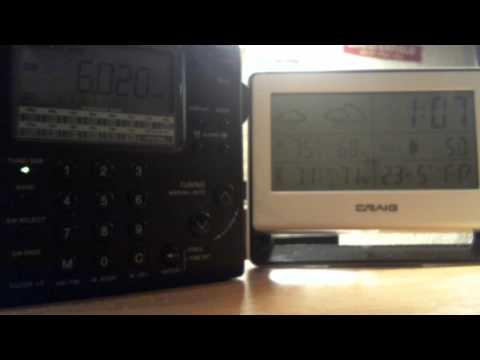 Radio China 6.020 KHz 0:00-2:00 UTC