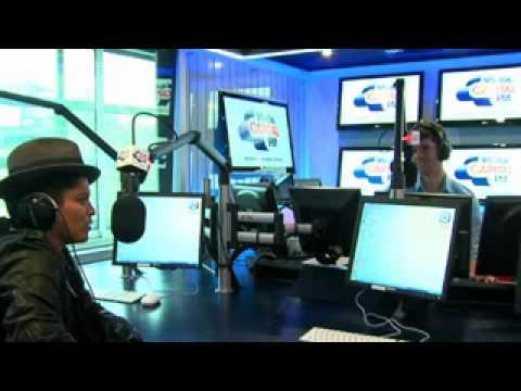 Bruno Mars Capital FM Performance/Interview