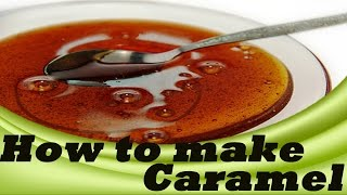 How to make caramel in tamil | kitchen tips