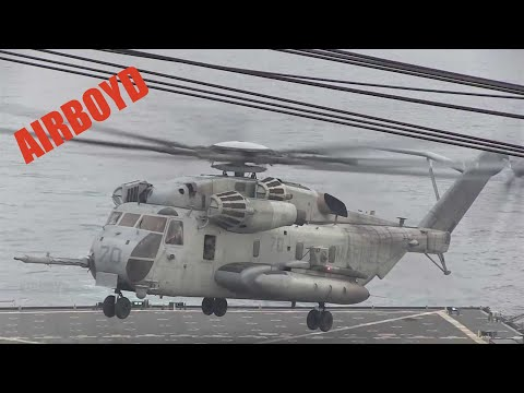 Helicopter Landing Qualifications USS Pearl Harbor (LSD-52)